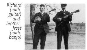 Granddad & Great Uncle Jesse Overton with Guitar & Banjo
