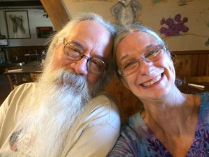 Beth & me in Big Bend - August 4, 2014